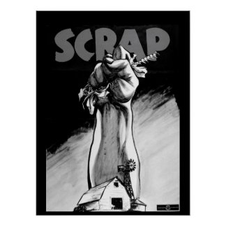 SCRAP. 1942. Color poster by_War image