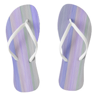 scrap book pastel colors style design flip flops