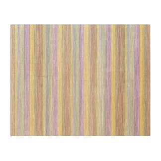 scrap book pastel colors style design wood wall art