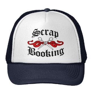 Scrap Booking Tattoo Trucker Hat