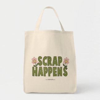 Scrap Happens Tote Bag