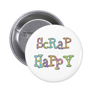 Scrap Happy Pin
