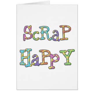 Scrap Happy Card