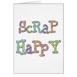 Scrap Happy Greeting Card
