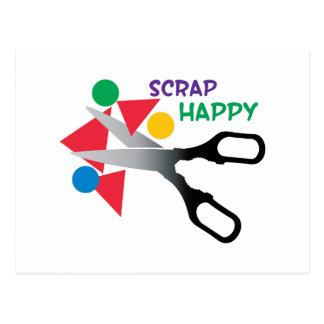 Scrap Happy Postcard