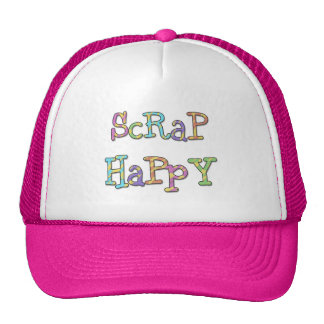 Scrap Happy T-shirts and Gifts Trucker Hat