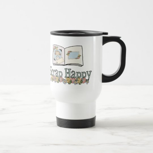 Scrap Happy Travel Mug