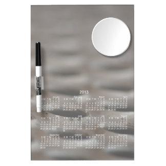Scrap Metal; 2013 Calendar Dry Erase Board With Mirror