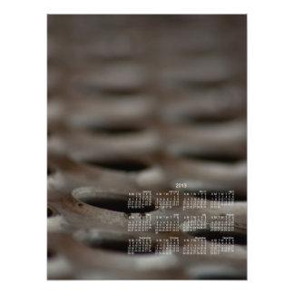 Scrap Metal; 2013 Calendar Photographic Print