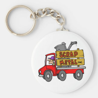 Scrap Metal Collector Key Chain