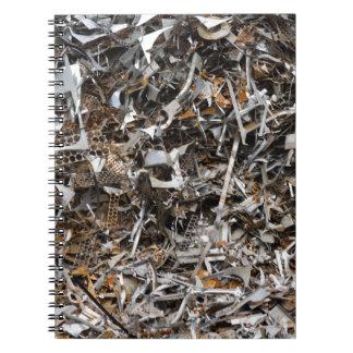 scrap metal notebook