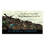 Scrap Metal Recycler Dump or Depot Center Double-Sided Standard Business Cards (Pack Of 100)