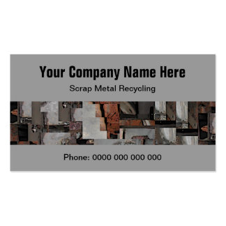 Scrap Metal Recycling Business Cards