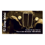 Scrap Metal Recycling & Garbage Pickup Double-Sided Standard Business Cards (Pack Of 100)