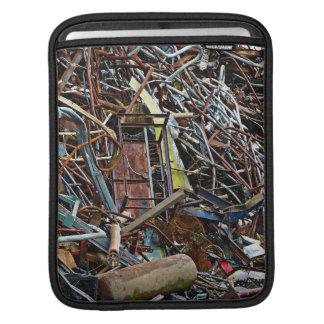 Scrap Metal Recycling Junkyard iPad Sleeve