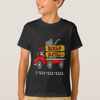 Scrap Metal Truck Phone Number To Be Customized T-Shirt