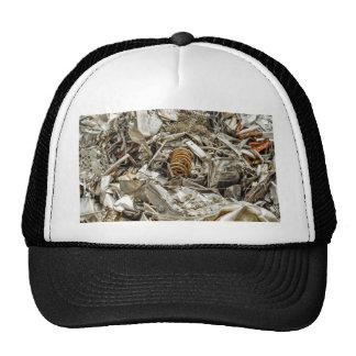 scrap metal trucker hat
