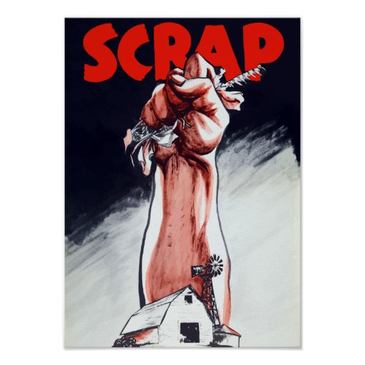 Scrap -- WWII Poster