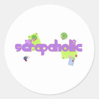 Scrapaholic Stickers
