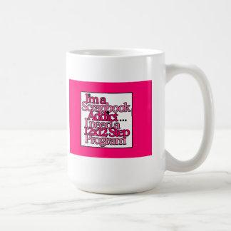 Scrapbook Addict Classic White Coffee Mug