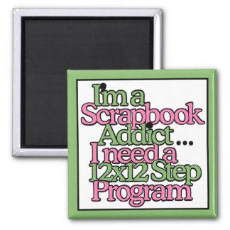 Scrapbook Addict! Magnets