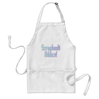Scrapbook Addict Tshirts and Gifts Adult Apron