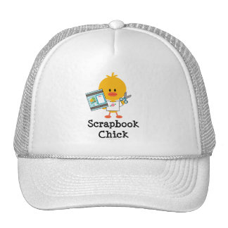 Scrapbook Chick Hat