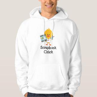 Scrapbook Chick Hooded Sweatshirt