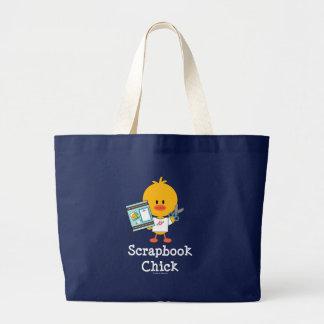 Scrapbook Chick Jumbo Tote