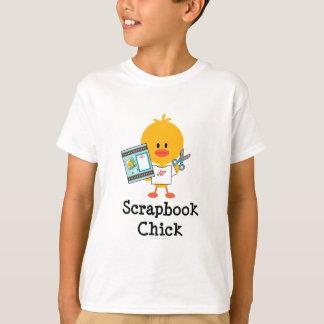 Scrapbook Chick Kids T shirt