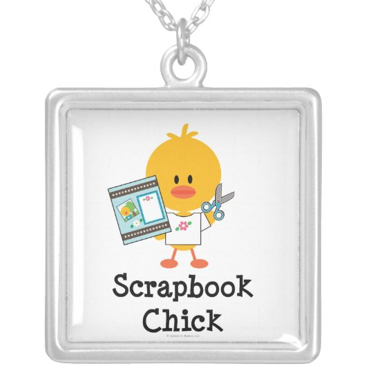 Scrapbook Chick Necklace