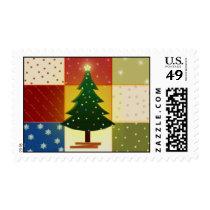 Scrapbook Christmas Tree Postage