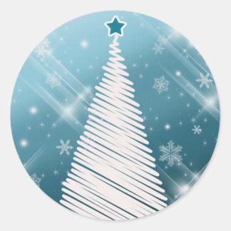 Scrapbook Christmas tree stickers - Customized