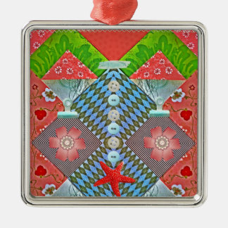 Scrapbook Delight Paper Buttons Gifts for Crafters Christmas Tree Ornaments