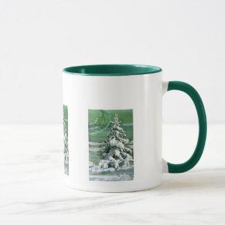 Scrapbook Fir Tree Mug