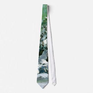 Scrapbook Fir Tree Tie