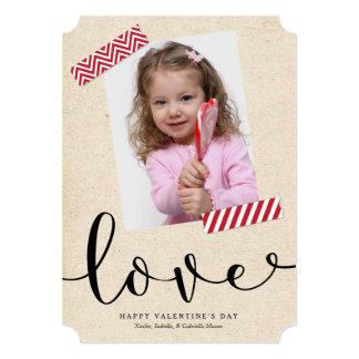 Scrapbook Love Card