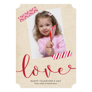 Scrapbook Love - Red Card