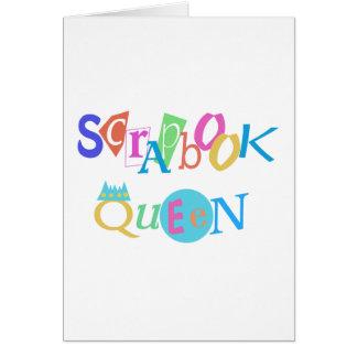 Scrapbook Queen Card