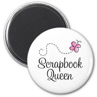 Scrapbook Queen Gift 2 Inch Round Magnet