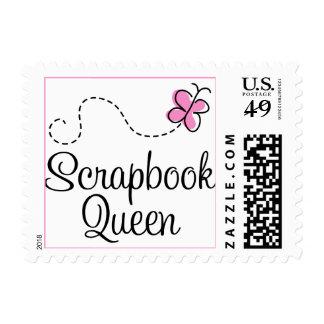 Scrapbook Queen Gift Postage Stamps