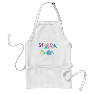 Scrapbook Queen T-shirts and Gifts Adult Apron