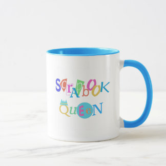 Scrapbook Queen T-shirts and Gifts Mug