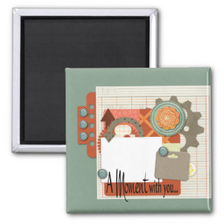 Scrapbook Quickpage 2 Inch Square Magnet