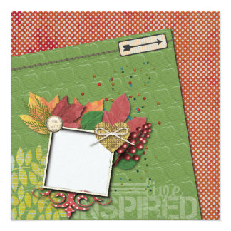 Scrapbook Quickpage Card
