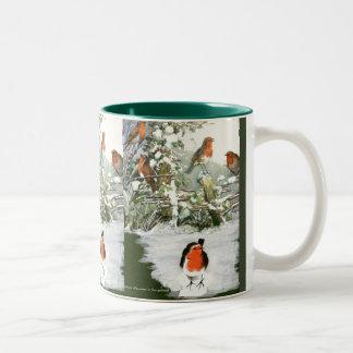 Scrapbook Robins Mug