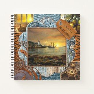 Scrapbook Style Photo Bullet Journal Notebook