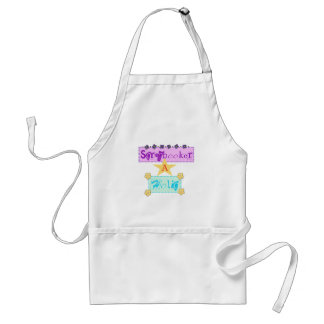 Scrapbooker A Holic Tshirts and Gifts Adult Apron