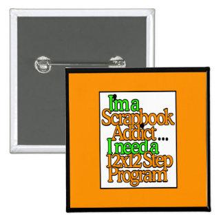 Scrapbooker Pinback Button