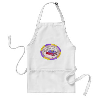 Scrapbooking and Cooking Adult Apron